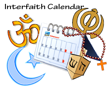 Indian America Interfaith Calendar
