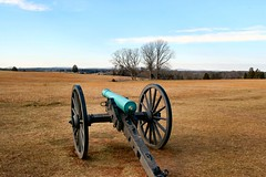 Manassas Battlefield Cannon from Henry Hill (mbell1975) Tags: park usa virginia us war union confederate civil national cannon manassas battlefield cannons 5photosaday worldtrekker ilobsterit