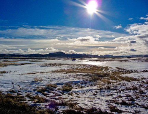フリー画像| 自然風景| 平原の風景| 雪景色| アメリカ風景|       フリー素材|