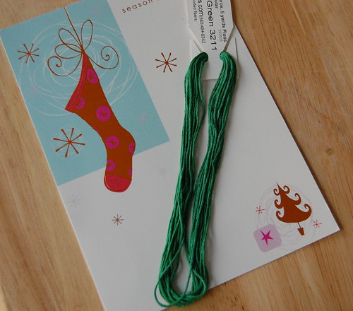 Thread and Card from Michele