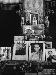 Pictures of Buddhist monks who burned themselves to death prior to the anti-Diem government revolution in the Xa Loi Pagoda. 9-1963 par VIETNAM History in Pictures (1962-1963)