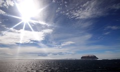 Antarctic Panorama (Heaven`s Gate (John)) Tags: ocean cruise blue light sea white cold ice expedition john landscape gate dramatic antarctica heavens discovery icebergs drakepassage bergybits mvdiscovery 5photosaday weddellsea johndalkin antarcticsound antarcticpanorama anderssonisland