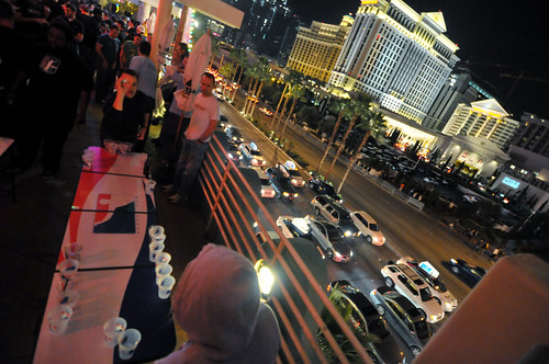 Beer Pong and the Las Vegas Strip