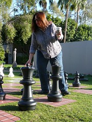 Playing Chess at the Biltmore (alist) Tags: phoenix garden botanical desert alicerobison