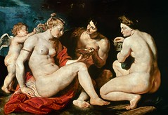 Venus, Cupido, Baco y Ceres de Rubens (colealomartes) Tags: uffizi