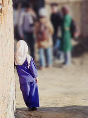 LONER (PAPYRARRI) Tags: people afghanistan children person kid child watch afghan lone lonely distance far kabul   aloof