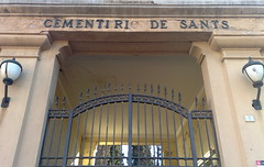 Entrada del Cementiri de Sants