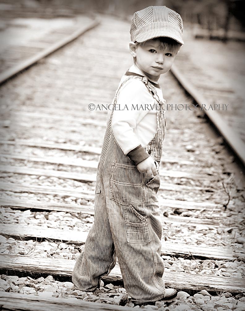 Railroad boy