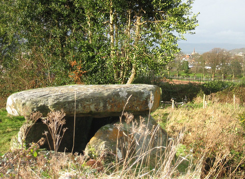 Neolithic tomb Largs 17Jan09