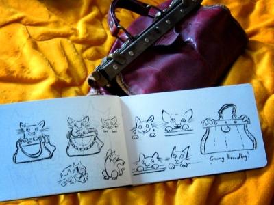 handbag doodles