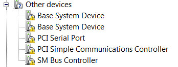 pci simple communications controller driver for windows 7 64 bit