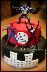 Spiderific Cake (MPH Photography) Tags: birthday boy 6 cake toddler spiderman
