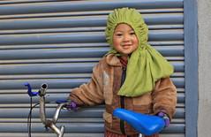 Green Bonnet (Astrobratt) Tags: nepal buddha kathmandu hindu patan nepali gavril