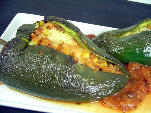 poblano peppers meatless monday stuffed chicken cheese stuffed poblano ...