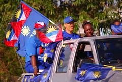 UPP Whistle Stop II (uppantigua) Tags: election antigua 2009 upp whistlestop antiguabarbuda unitedprogressiveparty