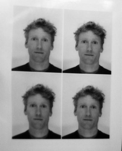 Taking a passport photo