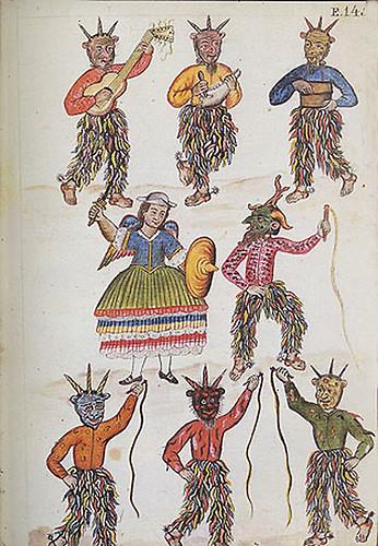 006- Códice Trujillo- Danza de los Diablicos-T2-E145