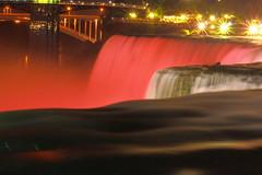 Nightime Niagara - Lights and Color! (p.csizmadia) Tags: longexposure mist ny newyork color water night lights niagarafalls waterfall illumination niagara falls rush majestic roar thunder majesty csizmadia pcsizmadia
