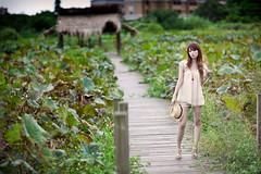 IMG_2623-Edit (Joseph Lu.) Tags: portrait girl beauty canon model pretty farm taipei 台北 frannie ef85mmf12lusm 台大安康農場 新店安坑 eos5dmarkii 小瀞