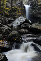 Cedar Falls, Petit Jean State Park (mikekemp_f5) Tags: longexposure fall water waterfall hiking arkansas cedarfalls naturesfinest petitjeanstatepark fallfoilage petitjeanmountain nikond200
