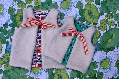 Vestjes voor de zonen