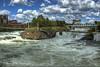 Bridges (jimgspokane) Tags: rivers riverfrontpark spokaneriver onlythebestare nikonflickraward today´sbest upperfallsspokaneriver