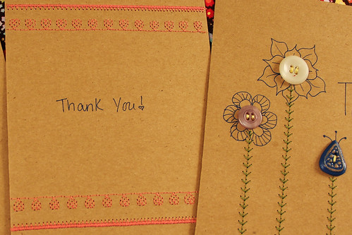 DIY Embroidered Greeting Cards