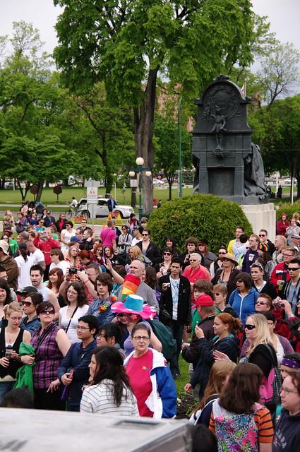 加拿大遊學日記24 (The Winnipeg Gay Pride Parade)