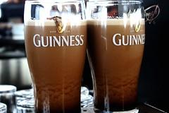 The birth of two Guinness at the Gravity Bar in Dublin, Ireland (Hazboy) Tags: guinness beer alcohol stout storehouse icon bier bierre bierra cerveza irlanti irlandia irish dublino hazboy hazboy1 ireland eire irland ierland lirlande irlanda ирландия írország europe europa pint glass dublin hazboyeuro
