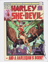 Harley the She-Devil by Joe Quinones