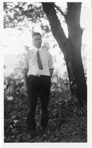 At the time of the 1925 Scopes anti-evolution trial, Wilbur Armistead Nelson (1889-1969) was State Geologist of Tennessee, by Frank Thone, Smithsonian Institution Archives, Accession 90-105, Image No. 2009-0492.