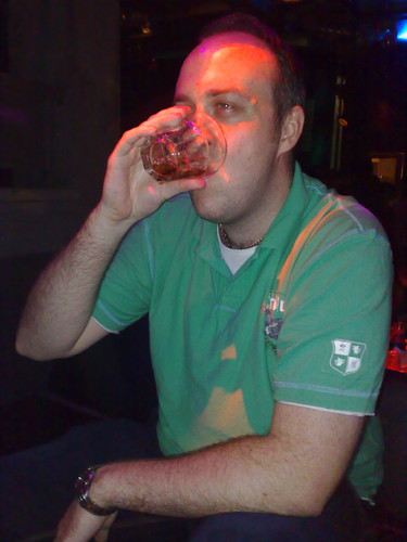 ST drinking.