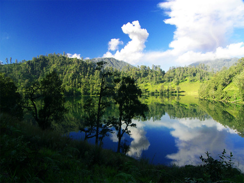 Ranu Kumbolo An Exotic Lake On Gunung Semeru Lumajang East Java