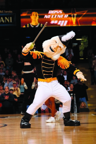 Mr. Commodore mascot