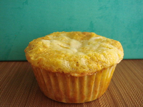 Curry Cheddar Corn Muffin