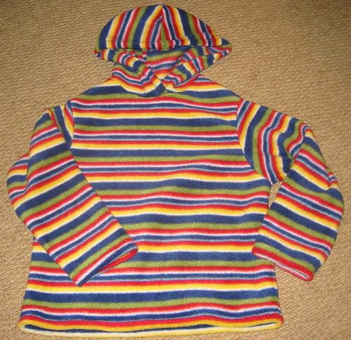 stripey hoody
