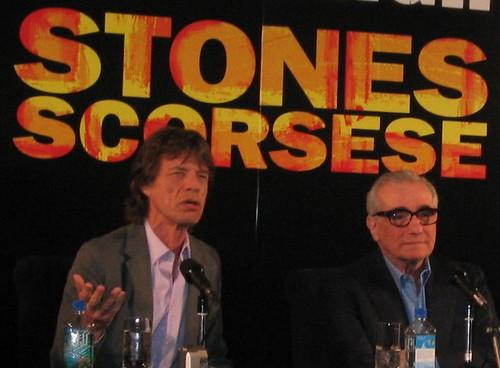Jagger Scorsese clip