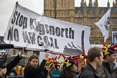Kingsnorth power station protests. Image by fotdmike