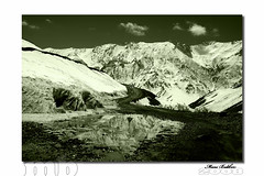 (~FreeBirD~) Tags: road old travel sky snow reflection ice k clouds lens march big nikon ride touch feel stunning infrared change 2008 mb challenge height ki spiti settings himachalpradesh freebird vast kaza kibber lovemax manibabbar maniya indianhimalayas irshot 14500ft httpbirdofpreyspaceslivecom httplamenblogspotcom