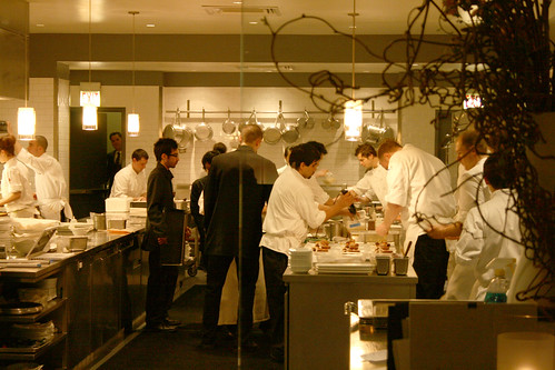 Alinea kitchen at work