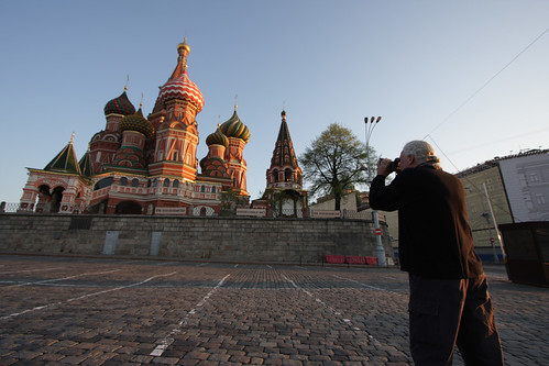 Ron shoots St.Basil Cathedral