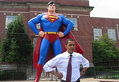 Barack Obama - Superman!