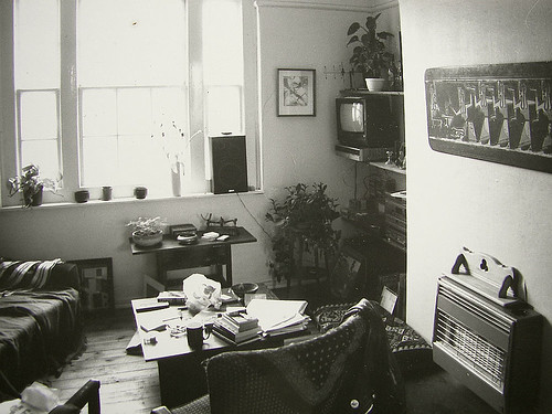 East End living room 1988