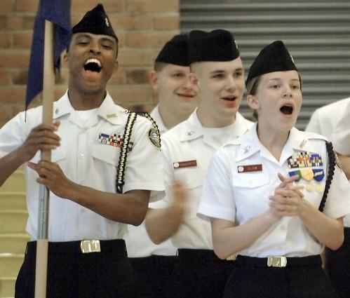 senior cadet of the year - Sara Clow