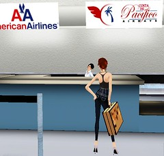 Airport1 (Channen GossipGirl) Tags: airport costarica modeling sl secondlife httpchannenggblogspotcom bohobabe