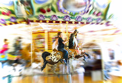 Pure Joy (Today'sAddiction) Tags: park horse jason motion color fun movement play carousel grandson anythingyoulike itsmagical