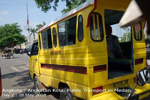 Angkota : Angkutan Kota, Public Transport
