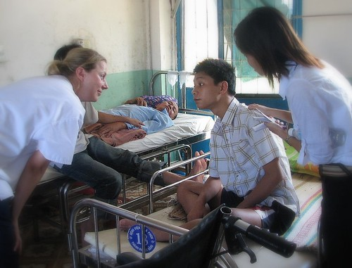 British Physiotherapy Intern in Da Nang