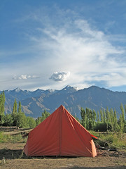 Camp @ Leh Valley