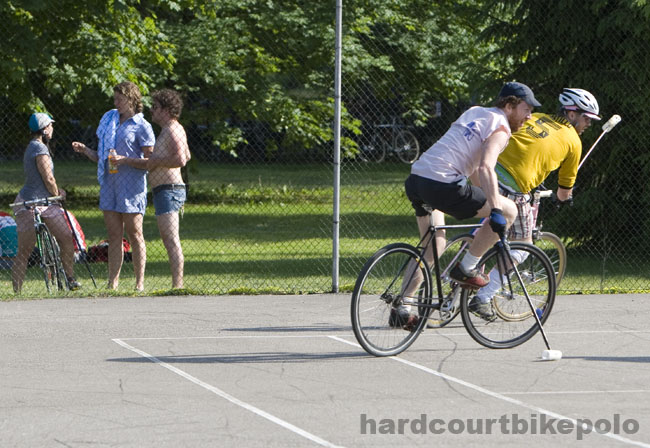bike polo and hanging out